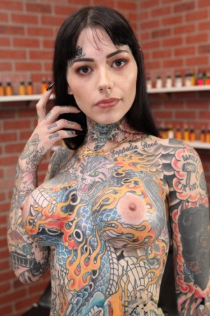 Naked Girls With Tattoos